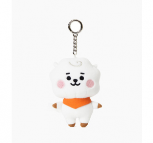 [R] LINE FRIENDS BT21 RJ Baby Doll Key Ring 1ea