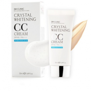 [SALE] 3W CLINIC Crystal Whitening CC Cream 50ml SPF50+/ PA+++