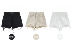 [R] HE.NIQUE Cotton Short Pants 1ea