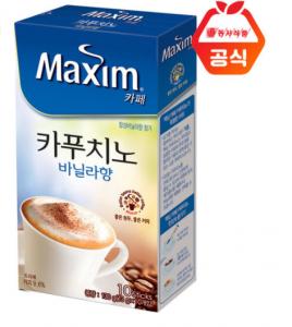 [R] MAXIM Cappuccino Vanilla 10ea