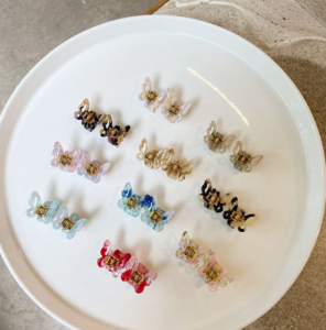 [R] Butterfly Hairpins 1ea