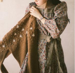 [R] MILK COCOA Amelie Dress Line.Mignon Floral Dress 1ea