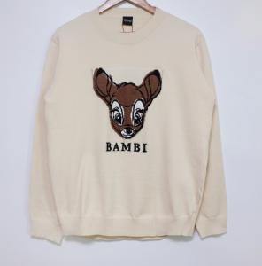 [R] REALLY-YA Bambi Sweat Shirts 1ea