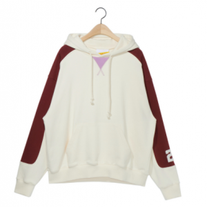 [R] NOHANT 2020 Color Block Hoodie Ivory 1ea