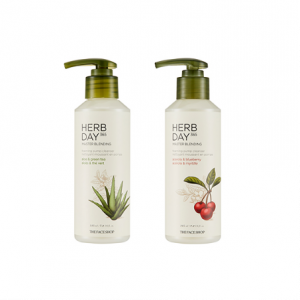[THE FACE SHOP] Herb Day 365 Master Blending Foaming Pump Cleanser 215ml