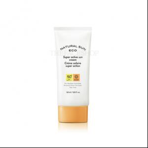 [THE FACE SHOP] Natural Sun Eco Super Active Sun Cream SPF50+ PA++++ 50ml
