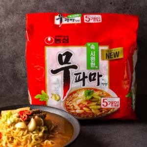 [F] NongShim Muparma Noodle 122g*5ea