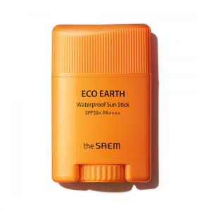 [THE SAEM] Eco Earth Waterproof Sun Stick SPF50+ PA++++ 17g