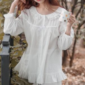[R] EVENIE White Pajamas 1ea