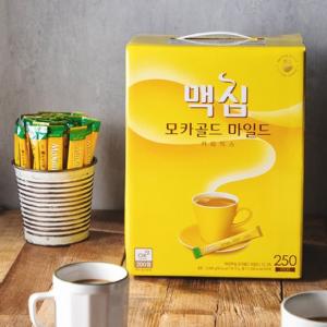[F] MAXIM Mocha Gold Mild Coffee Mix 250ea