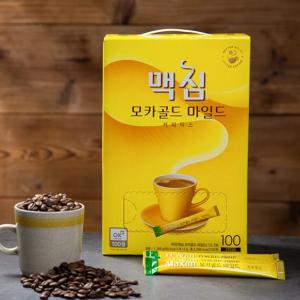 [F] MAXIM Mocha Gold Mild Coffee Mix 12g*100ea