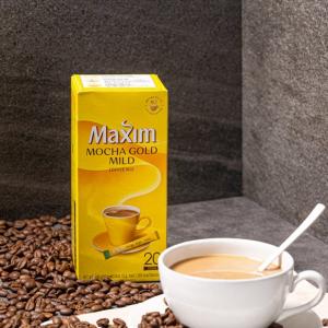 [F] MAXIM Mocha Gold Mild Coffee Mix 12g*20ea