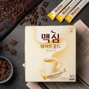[F] MAXIM White Gold Coffee Mix 11.7g*50ea