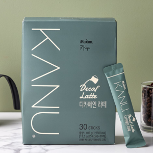 [F] MAXIM Kanu Decaffeine Latte 30ea