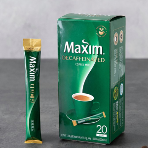 [F] MAXIM Decaffeine Coffee Mix 12g*20ea
