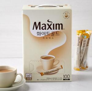 [F] MAXIM White Gold Coffee Mix 11.7g*100ea