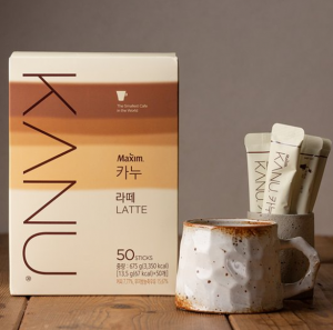 [F] MAXIM Kanu Latte 13.5g*50ea