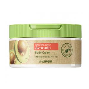 [THE SAEM ]Natural Daily Avocado Body Cream 300ml
