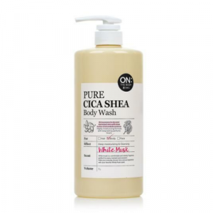 [Online Shop] ON:THE BODY Pure Cica Shea Body Wash - White Musk 1000ml
