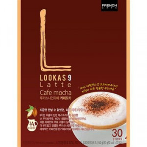 [R] LOOKAS9 Latte Cafe Mocha 30ea