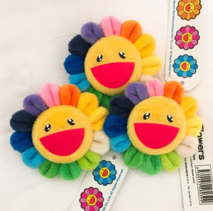 [R] SMILE FLOWER BROOCH