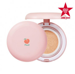[SKINFOOD] Peach Cotton Blur Cushion SPF50+/PA++++15g