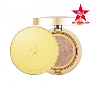 [SKINFOOD] Royal Honey Propolis Essence Cushion SPF45 PA++ (15g)