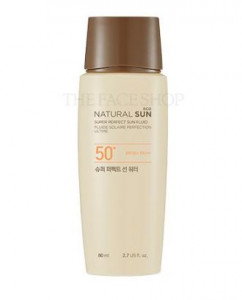 THE FACE SHOP Natural Sun Eco Super Perfect Sun Water 80ml SPF50+ PA+++