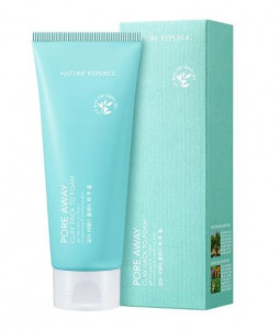 NATURE REPUBLIC Pore Away  Clay Pack To Foam 150ml