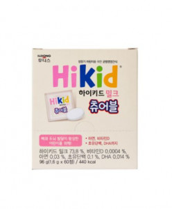 [ILDONGFOODI] HiKid Milk Chewable (1.6g*60ea) 1Pack