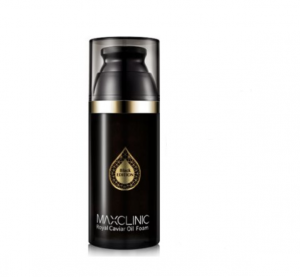 [SALE] MAXCLINIC Royal Caviar Oil Foam Holiday Black Edition 110g