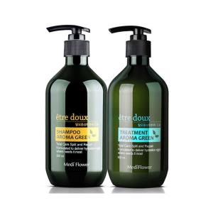 [Mediflower] etre doux Aroma Green Shampoo/ Treatment 500ml