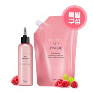 [R] APIEU Raspberry Hair Vinegar Set