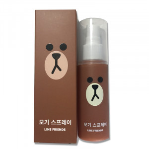 [S] EVERAID Line Friends Mosquito Spray 50ml