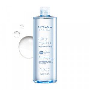 MISSHA Super Aqua Ultra Hyalon Miceller Cleansing Water 500ml