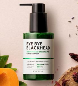 [R] SOMEBYMI Bye Bye Blackhead 30Days Miracle Green Teatox Bubble Cleanser 120g