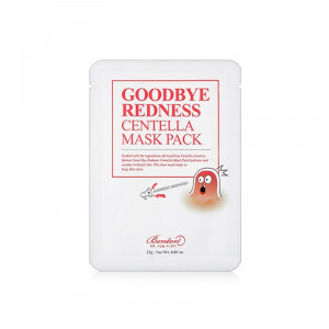 [R] BENTON Good Bye Redness Centella Mask Pack 4ea 23g