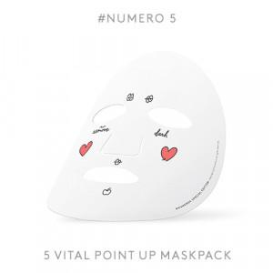 [W]Numero 5 Heart Massage Pack 1set (5ea)