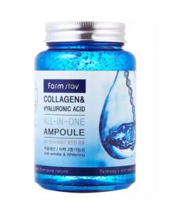 [R]FARMSTAY Collagen & Hyaluronic Acid All In One Ampoule 250ml