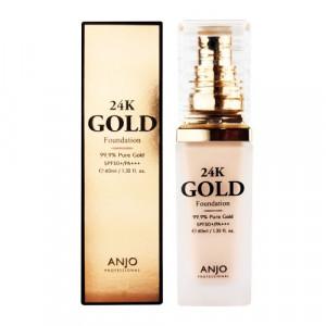 ANJO 24K Gold Foundation SPF50+ PA+++ 40ml