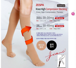 [R] ZESPA Compression stockings