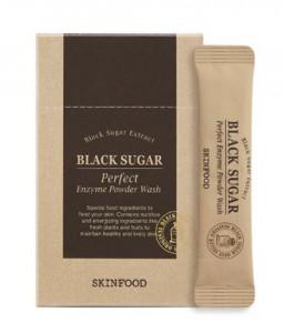 [SKINFOOD] Black Sugar Perfect Powder Wash 1.2g*30ea