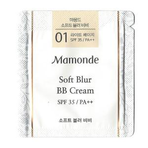 [S] MAMONDE Soft Blur BB Cream #01 Light Beige 1ml*10ea