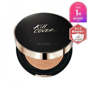 [Online Shop] CLIO Kill Cover Fixer Cushion SPF50+ PA+++ 15g + Refill 15g