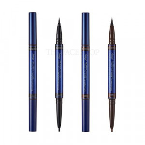 THE FACE SHOP fmgt Ink Proof 2 In 1 Eye Liner 0.6g/0.13g