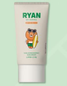 THE FACE SHOP Club Ryan Dr. Belmeur UV Derma Non Comedogenic Sun Cream 70g SPF40 PA+++