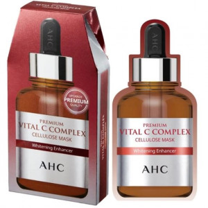 [SALE] AHC Premium Vital C Complex Cellulose Mask 5pcs