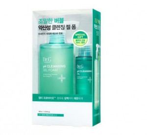 Dr.G pH cleansing Gel foam 200ml Set