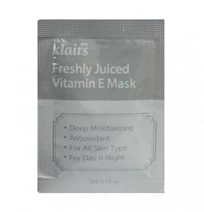 KLAIRS Freshly Juiced Vitamin E Mask 3mlx3ea