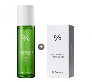 Dr.Ceuracle  Tea Tree Purifine 70 toner 100ml+ cotton